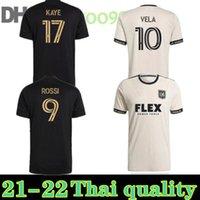MLS 2021 2022 Lafc Carlos Vela Soccer Jerseys 21 22 Los Angeles FC Beckham Black La Galaxy Chiches de football United Atlanta