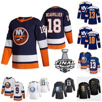 Youth Mathew Barzal Nork Nork 2021 Stanley Cup Playoffs Jersey Anders Lee Jean-Gabriel Pageau Kyle Palmieri Beauvillier Semyon Varlamov Komarov Martin