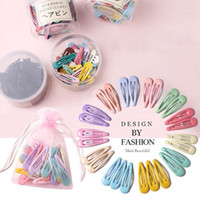 Women Hair Accessories Cute Girls Hairpin Water Drop Clip Metal Pin Color Modeling Styling Tool Barrette Hairclips1