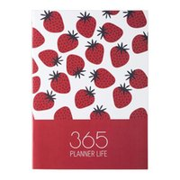 Notepads A4 Diary Notebook And Kawai Fruit Weekly Monthly Travel Manual Return School Y8F0