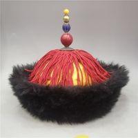 Porcellana Vecchio cappello dell'imperatore del palazzo dei beni di Pechino