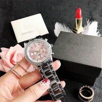 2021 Luxury M Brand Watch Casual Mujeres Relojes Diamond Fashion Dress Designer Strap de acero inoxidable Movimiento de cuarzo