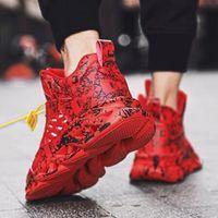 Nova Moda Moda Jogging Ty Sapatos Sl Acompanhado BKB Kopatas DBD Sneakers Men's Jogging FB Carminal Al Aller Sports Free Sports 39-45