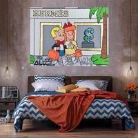 Богатая живопись масляными маслом на холсте домашний декор Гресцен / HD Print Wall Art Picture Настройка допустима 21052824
