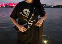 Fashion skull Gallery dept Angel print Unisex oversized short sleeves
