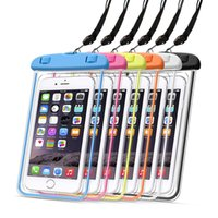 Transparent Cellphone Waterproof Cases Universal Outdoor Phone Water Resistant Bags For iPhone 13 6.1inch 5.5inch