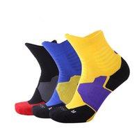 Contraste cor-de-rosa desenhador de cor meias novos anklet esportes moda meias curtas para menina engrossar meias mens