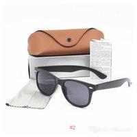54mm 2021 Güneş Erkekler Kadınlar Marka Göz Güneş Gözlük Bantları Ayna Lensler Box Kılıfları Ile Ben Güneş Gözlüğü