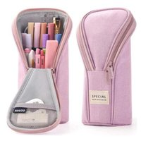 Angoo Golf Style Pen Pencil Bag Case Special Color Phone Holder Fabric Storage Pouch Organizer Bags