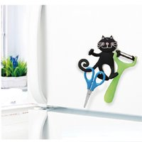 The new quirky foldable portable lazy phone seat stand refrigerator with strong magnetic hooks