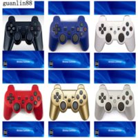 Wireless Controller For PS3 Playstation 3 Controllers Bluetooth Game Double Shock Joysticks Gamepad With Retail Box