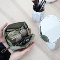 حقائب حقيبة يد صغيرة حجم السفر أحمر الشفاه حقيبة التخزين
