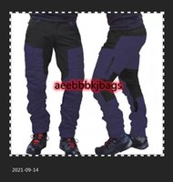 Autumn And Winter Casual Mens Fashion Color Block Multi Pockets Sports Long Cargo Pants Work Trousers for Men Clothing