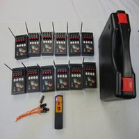48 Cues Smart Switch New Years Digital Remote Black Box Wedding Equipment Connect Double Electric Wire Fireworks Firing System Display