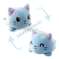 24H ship US stock Reversible Cat Gato Kids Soft Gift Plushie Plush Animals Double-Sided Flip Doll Cute Toys Peluches For Kids Girl Gift Unicorn