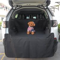 كلب الجذع الكلب بطانة البضائع - أكسفورد سيارة سيارات الدفع الرباعي غطاء مقعد - ماء أرضية حصيرة للكلاب القطط - ملحقات كلب قابل للغسل B1