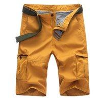 Uomini Militare Bel Pantaloncini Vogue Army Camouflage Tactical Cotton Lavoro sciolto Casual Pantaloni corti senza Blet Uomo