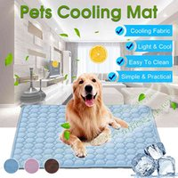 Dog kennels Free delivery of cat and dog ventilation mat sofa bed or car refreshing blanket pet washable carpet small animals medium large 0719