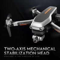 كاميرا بدون طيار 4K HD كاميرا 2-as المضادة ليه هزة مستقرة gimbal l109pro 5g wifi fpv borstelloze motor rc quadcopter helicopter