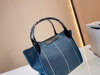 women shoulder bags Tote-bags 2021 autumn Fashion Ladies shopping-bags High-quality Denim Famous Luxury Designers handbags size:32*30cm
