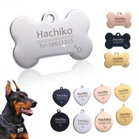Personalized Dog Tag Stainless Steel Name Engraved ID Tags F...