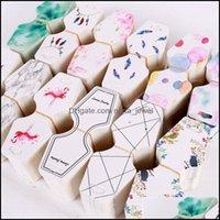Etiquetas, joyería de embalaje100pc / lote Pantalla 4.5 * 10.8 cm Tenedor colgante Precio de suspensión 12 colores Impresión de la joyería Tarjeta de embalaje DIY puede personalizar
