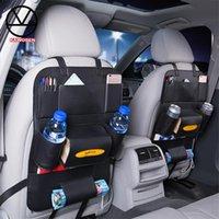 Car Organizer KAWOSEN Seat Back Bag Backseat Chair Storage Pocket Box Travel PU Leather Stowing Tidying SBCB09