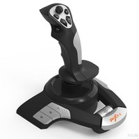 PXN-F16 USB Flight Joystick Simulator ASFC Компьютерный контроллер Dual-Vibration для PC Microsoft Game Контроллеры Джойстики