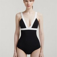 One-Piece Suits Sexy Skirt One Piece Swimsuit Women Solid Black Swimwear Open Back Monokini Vintage Retro Bathing Suit Push Up Pads High Cut