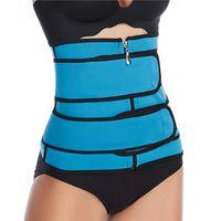 الولايات المتحدة الأسهم الساخنة الرجال النساء صائغي الخصر المدرب حزام مشد البطن التخسيس ملابس داخلية قابل للتعديل دعم صائغي الجسم