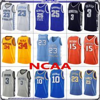 NCAA COUNGE LEAGUE Basketbol Formaları 34 Önyargılı 4 Webber 20 Payton 15 Carter 33 Kuş 33 Oneal 23 Michael 10 Rodman 15 Anthony 3 Iverson 25 Individge Ucla Erkekler Jersey