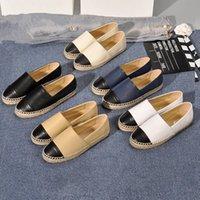 Fabrika Doğrudan Satış Kadınlar Espadrilles Tasarımcı Bayanlar Rahat Ayakkabılar Flats Moda Gerçek Hakiki Deri Loafer'lar Slip-on Platform Ayakkabı 42