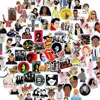 10/50 UDS Rock Band Sticker Sticker Punk Graffiti Casque Casque Casque Guitare Téléphone Cadeau pour enfants
