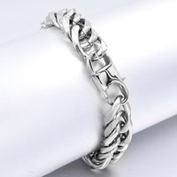 Link, Chain CHIMDOU Bracelets For Men Women,Stainless Steel Curb Cuban Link Customed Length Bracelet Friend,,Father Gift