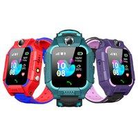 Q19 Z6 Smart Watch Wateproof Kinder Smartwatch LBS Tracker Uhren SIM-Kartensteckplatz mit Kamera SOS für Universal iOS Android Smartphones