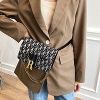 디자이너 안장 벨트 가방 고품질 2021 여성 크로스 바디 가방 어깨 지갑 핸드백 체인 패션 클래식 레트로 Luxurys 토트 블루