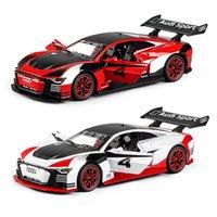 132 AUDIA-TRON VISION GT Auto Die Cast Lega Auto Modello Modello Edition 24 Heures du Mans Collectibles Cars Toy Birthday Present Boy