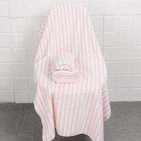 Towel Jacquard Bear Bath Three-piece Spot Microfiber Dry Hair Cap Set