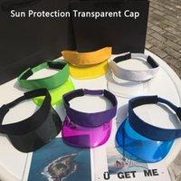 Mulheres verão uv proteção sol viseira plástico chapéu de golfe esporte leopardo headband tampão borda larga chapéus