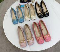 zapatos de diseñador zapbskin tacones altos damas botón de oro cuadrado tacones de altura mujer zapato de cuero real con caja de caja 35-40