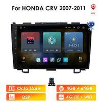 "Ossuret 9"" Android 10 4+64 Car radio GPS Navigation for Honda CRV 2012-2015 Multimedia DVR SWC FM CAM-IN BT USB DAB DTV OBD PC"