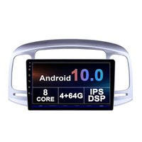 Car Dvd Player Android Monitor for Hyundai ACCENT 2006-2011 The New Listing Touch Screen double Din Retractil