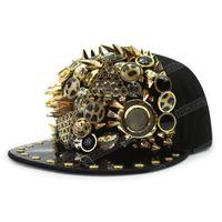 Ball Cap Урожай бейсбол хип-хоп алмазные шапки для женщин Hater Snapback Sport
