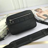Neue Stil Frauen Männer Messenger Bag Top Qualität Leder Handtasche Mode Trend Einzelner Umhängetasche Männer Sling Tasche Herren Geldbörse mit Kasten