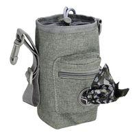 Haustier Treat Snack Bag Spaziergang mit Toys Hocker Kostenloser Training Taille Pack im Freien Hund Supplies Autositzbezüge