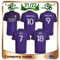 Jersey 2021 # 10 Pereyra # 7 Pato # 17 Chemise de football Nani # 9 Mueller # 18 Dike Maillots Uniforme