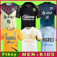 21 22 Club America Chivas Naul Tigres Soccer Jersey F. VINAS HENRY LIGA MX 2021 2022 Guadalajara 115th Rodriguez América Giovani Hombres Camisa de fútbol