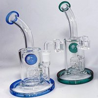 Hookahs Recycler Glass Bongs oil dabber rigs Water Pipe Beaker Bong Bubbler