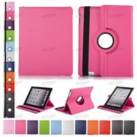 360 Degree Rotating PU Leather Stand Smart Cases Cover for Ipad air mini 5 2 3 4 Pro 9.7 10.5 11 Galaxy tab P200 T510 T515 case