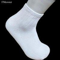 Paires Coton Short Short Chaussettes pour Mens Chevle Sokken Calcrétines Hombre Socken Noir Blanc Gris 42 43 44 Hommes